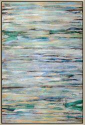 Blue Braid Wall Painting