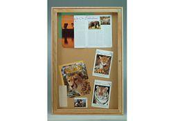 "Indoor Oak Bulletin Board 24""x36"""