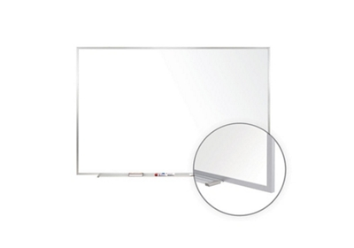 Porcelain White Board with Aluminum Frame 12'W x 4'H