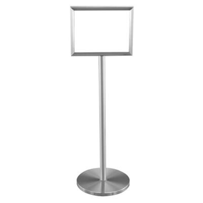 """Double Sided Standing Sign Holder - 11"""" x 14"""""""
