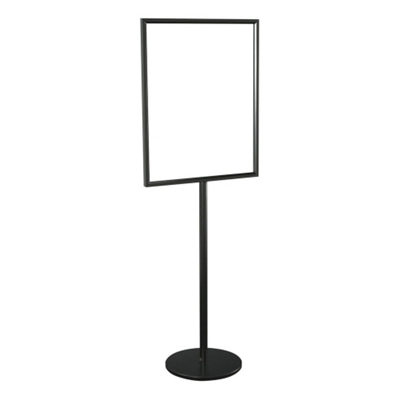 """Double Sided Standing Sign Holder - 28"""" x 22"""""""