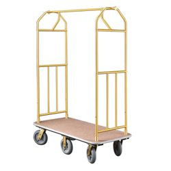 Value Six Wheel Bellman Cart