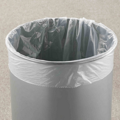 "15"" Diameter Poly Bag Liners - 100 Count"