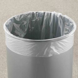 "12"" Diameter Poly Bag Liners - 100 Count"
