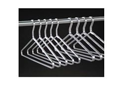 """Set of 6 Open Loop Hangers 5/16"""" Thick"""