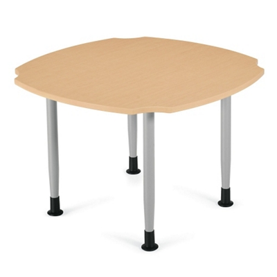 """Square Dining Table  with Caregiver Cut-Outs - 42""""W"""