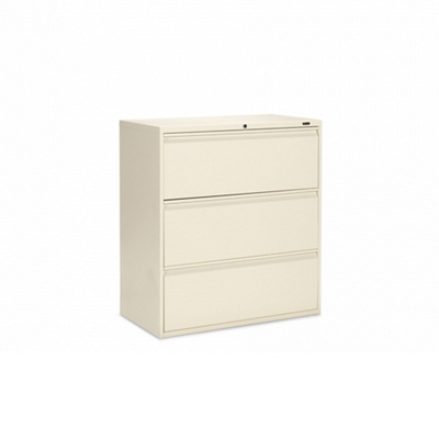 "Lockable Three Drawer Lateral File  - 36""W"