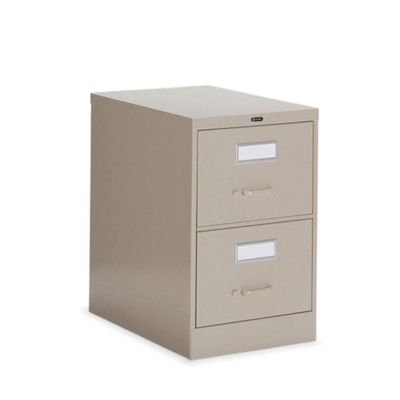 """Heavy-Duty Two Drawer Letter Vertical File 26-1/2""""D"""
