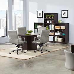 Shown with Harper Chairs in Stratus 56622
