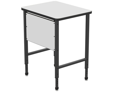 """Stand Up Desk with Marker Board Top and Panel - 30""""W x 24""""D"""