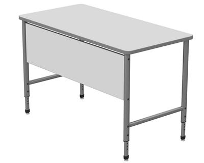 """Stand Up Desk with Marker Board Top and Panel - 60""""W x 30""""D"""