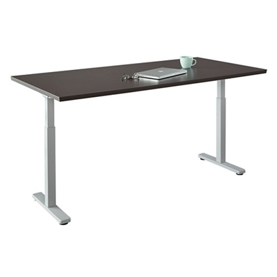 "Contemporary Height Adjustable Table - 60""W x 30""D"