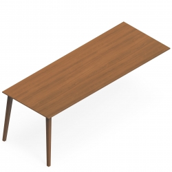 "Peninsula Table Desk - 84""W x 32""D"
