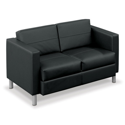 Citi Leather Loveseat