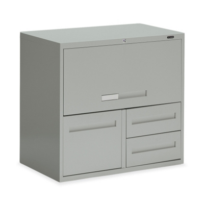 "30""W 3 Drawer Personal File with Storage"
