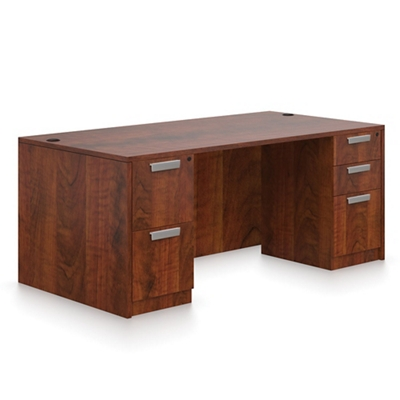 "Contemporary Executive Desk - 60"" x 30"""