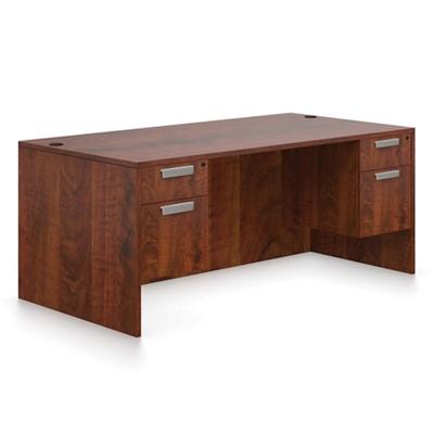 "Contemporary Executive Desk - 71""W x 36""D"