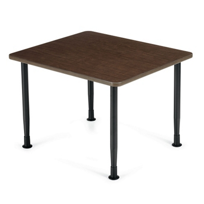 Laminate Table with Adjustable Glides