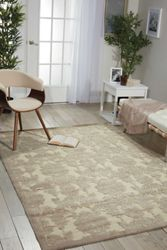 Damask Area Rug 5.25'W x 7.42'D