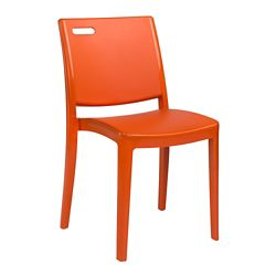 European Style Armless Stacking Chair