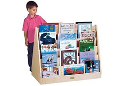 Double Sided Book Display