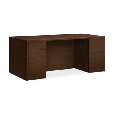 "Executive Desk with Full Pedestals - 72""W"
