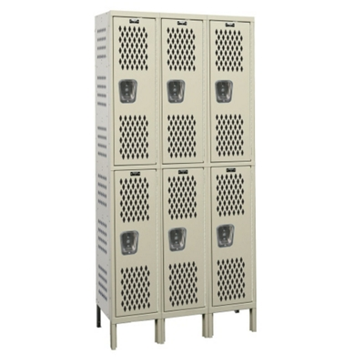 "45""W x 15""D Two Tier Ventilated Locker"