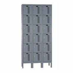 """36""""W x 15""""D Six Tier Ventilated Locker"""