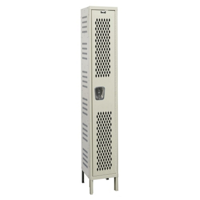 "Assembled 15""W x 18""D Single Tier Ventilated Locker"