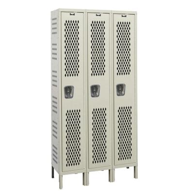"""Assembled 36""""W x 18""""D Single Tier Ventilated Locker"""