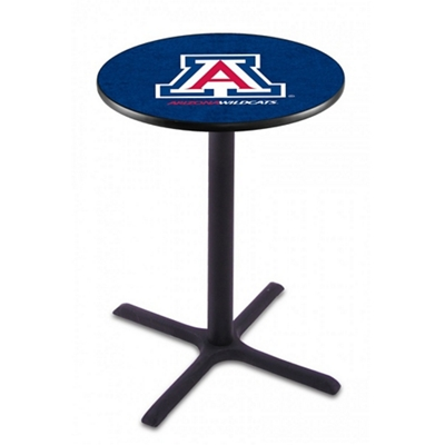 "X-Base College Logo Table - 28""DIA x 42""H"