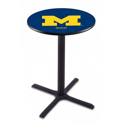 "X-Base College Logo Table - 36""DIA x 42""H"