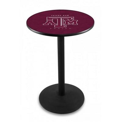 "Disc Base College Logo Table - 28""DIA x 36""H"