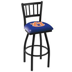 "College Logo Ladder-Backed Stool - 30""H Seat"