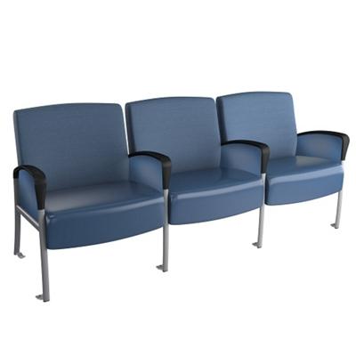 Behavioral Health Three Seat Chair