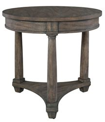 """Lamp Table - 26""""W x 28""""D"""