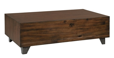 "Butchers Block Coffee Table - 50"" W x 30"" D"