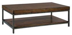 """Veneer Block-Top Coffee Table - 50"""" W x 30"""" D"""