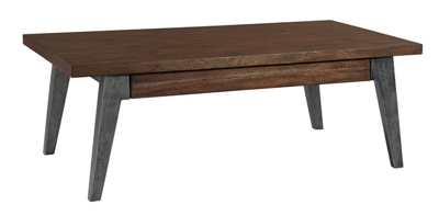 "Splayed-Leg Coffee Table - 50"" W x 28"" D"