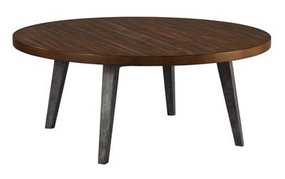 "Splayed-Leg Round Coffee Table - 42"" Diameter"