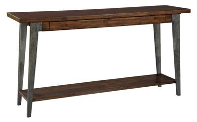 "Splayed-Leg Sofa Table - 68"" W x 16"" D"