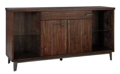 "Wood Veneer Buffet - 68""W x 18""D"