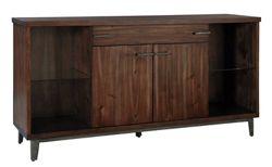 "Wood Veneer Buffet - 68""W x 18""D"
