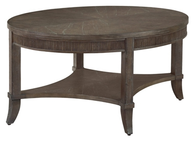 "Oval Coffee Table - 39"" W x 26"" D"