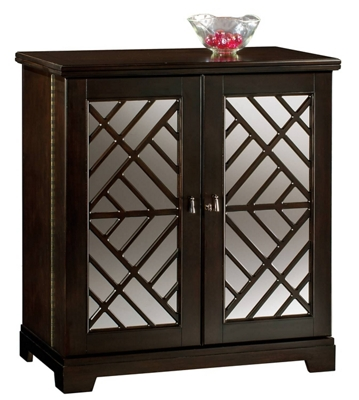 """Beverage Console with Fold-Out Bar - 39""""W x 22""""D"""