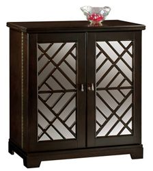 "Beverage Console with Fold-Out Bar - 39""W x 22""D"