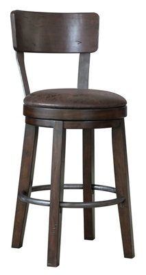 Bar Stool with Cushion and Back