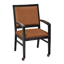 Dining Chair with Front Casters