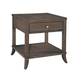 """Lamp Table with Drawer and Lower Shelf - 24.75""""W"""