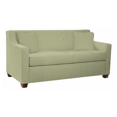 Vinyl Mid-Length Sleeper Sofa